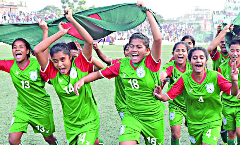 ৩০ নতুন নারী ফুটবলারের সম্ভাবনা.... 2